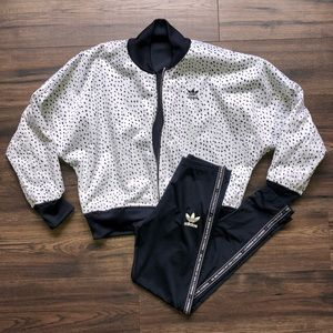 adidas jacket & leggings set